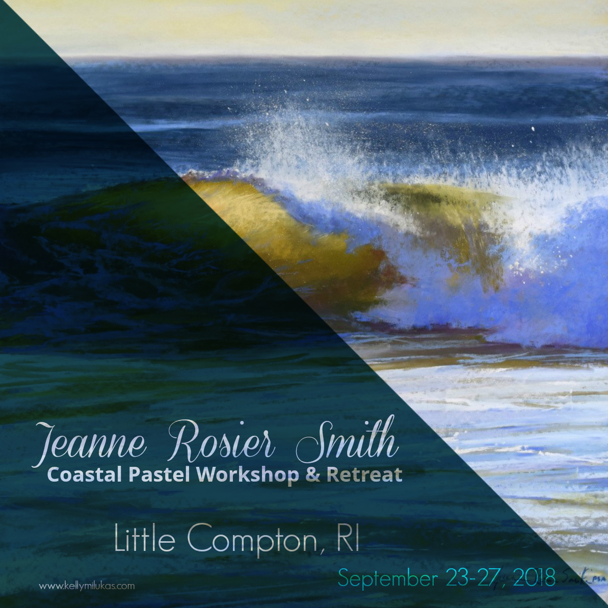 Pastel Workshop & Retreat Announced With Jeanne Rosier Smith