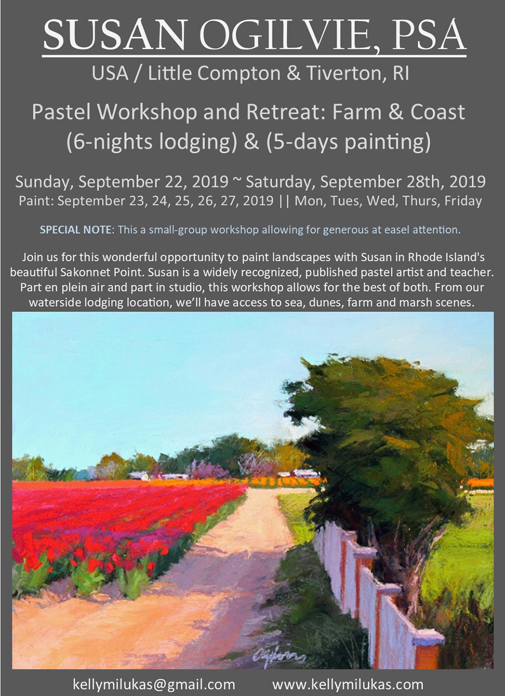 Pastel Workshop & Retreat