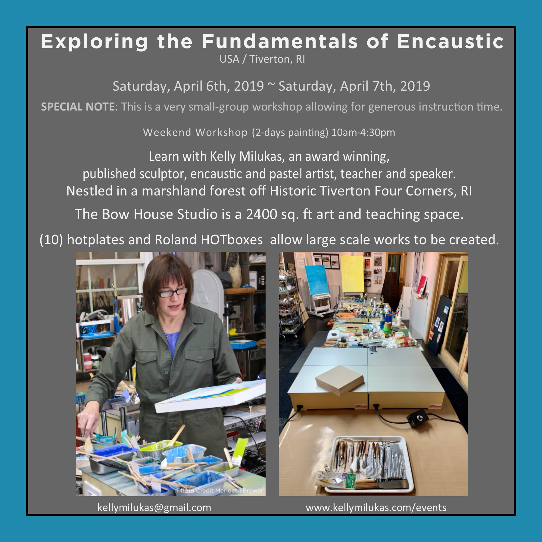 Exploring The Fundamentals Of Encaustic