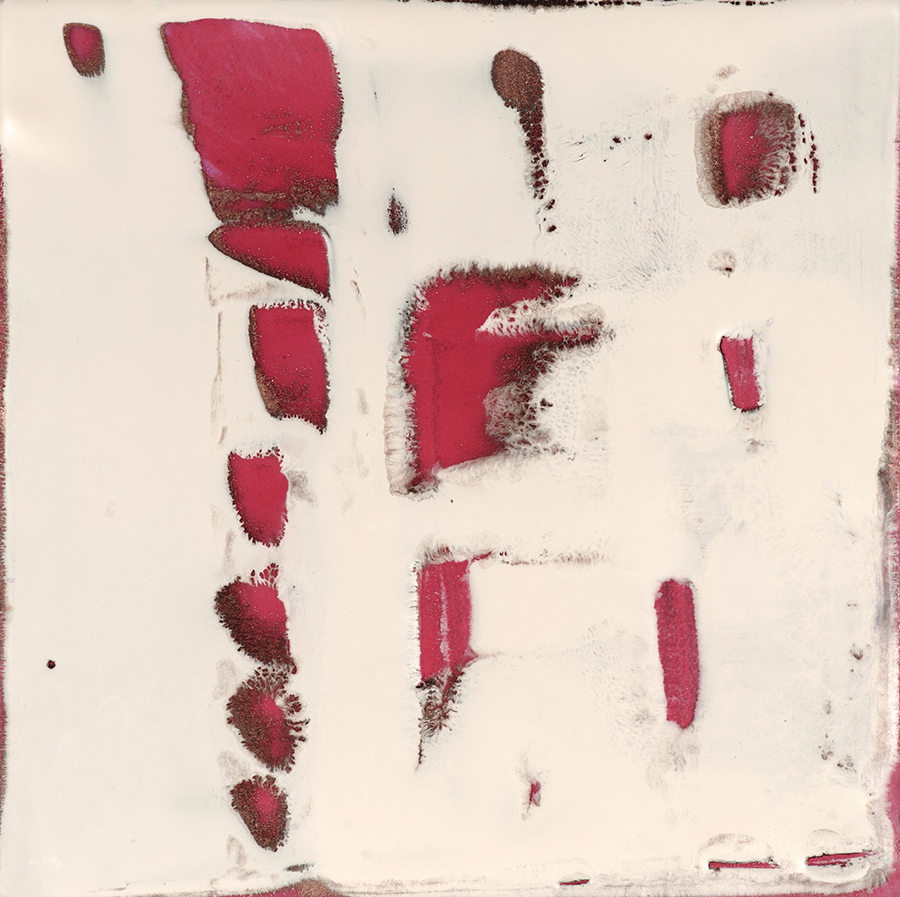 Oxygen (no1), Encaustic, 6×6