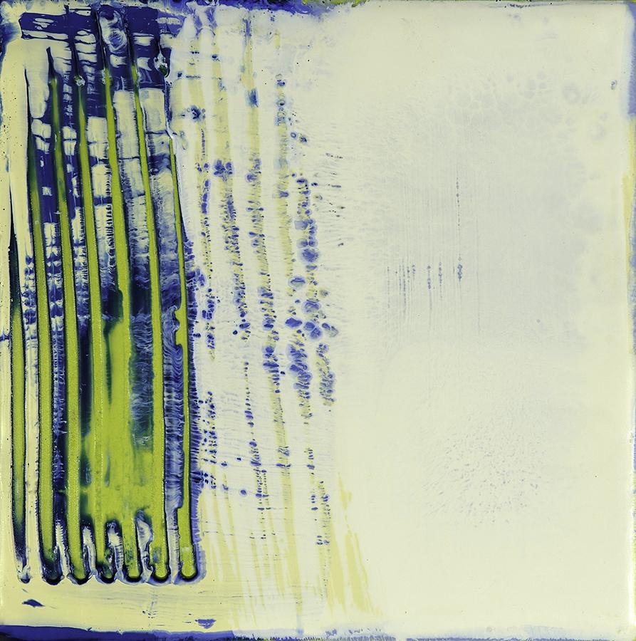 Oxygen (no2), Encaustic, 6 x 6