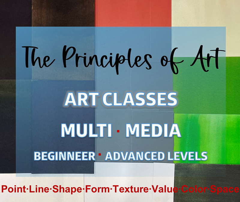 The Principles of Art Aug 4, 11, 18, 26
