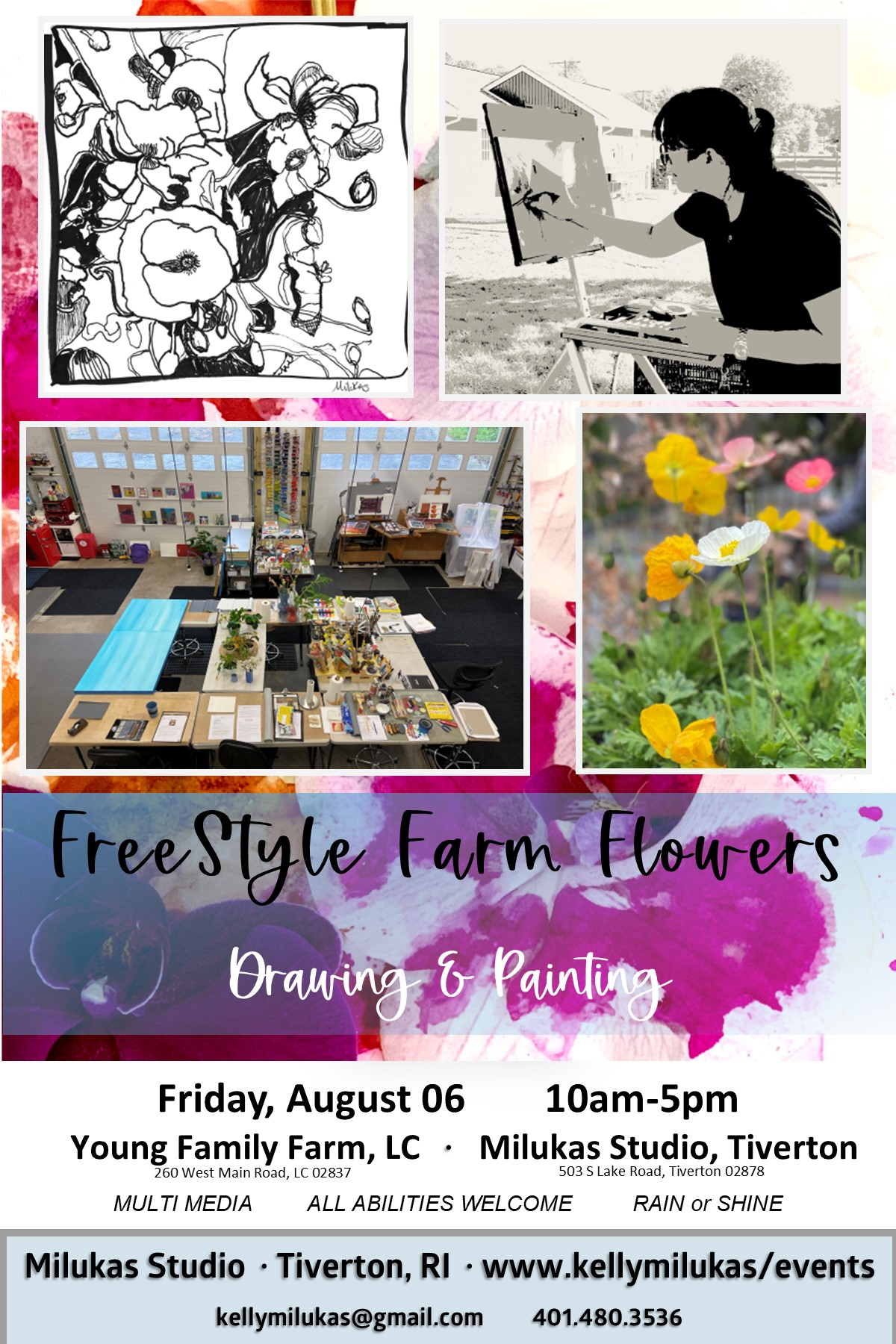 Freestyle Farm Flowers Friday, August 06, 2021